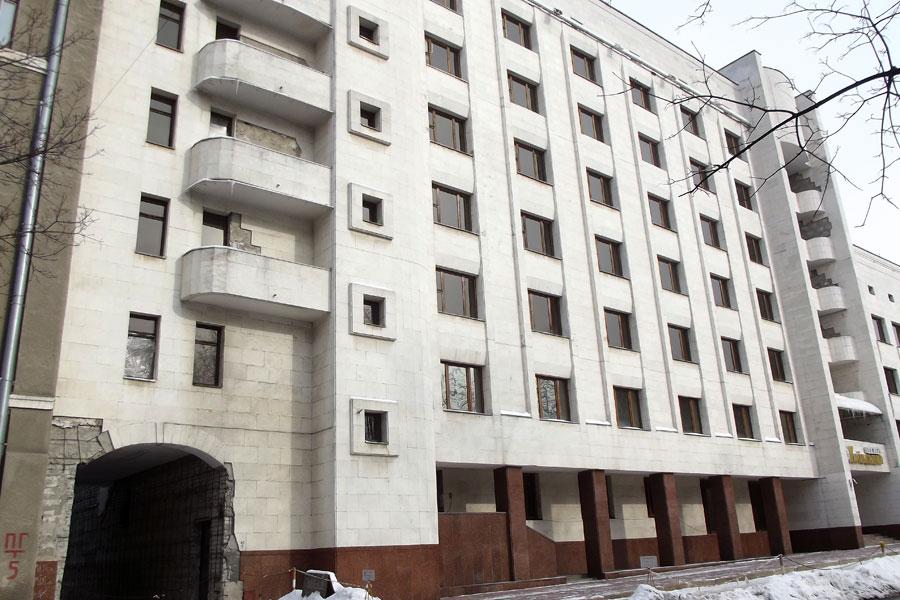 """Так виглядав готель """"Київський""""…"""