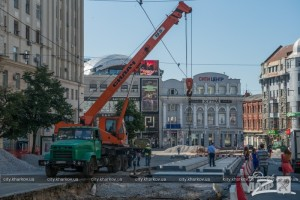 Будівництво цього переїзду на майдані Конституції коштуватиме харків'янам 19,78 млн. грн.