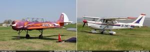 Виставлений на продаж Як-52 Балицького і переоформлений на батька Cessna С-172